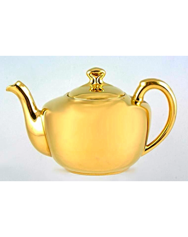 (OUT OF STOCK) ROYAL WORCESTER GOLD TEAPOT
